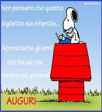 Auguri Compleanno Con Snoopy Auguri Di Compleanno Divertenti Auguri Di Compleanno Compleanno Divertente