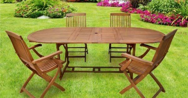 Esta mesa oval y estas quatro sillas en madera pueden ser for Sillas para jugar xbox