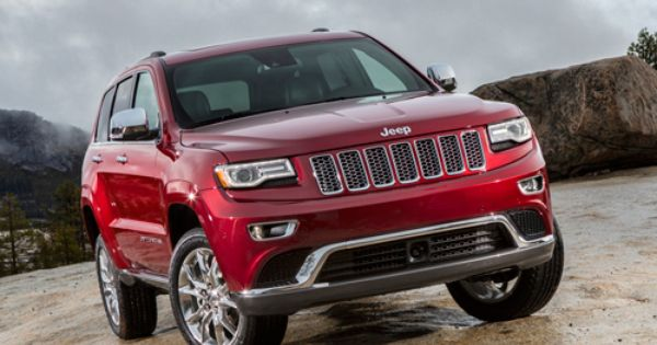 2014 Jeep Grand Cherokee Srt At The 2013 Detroit Auto Show