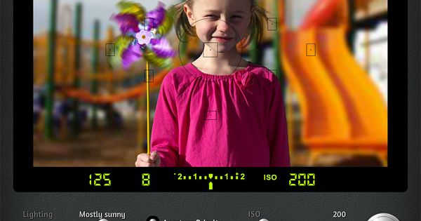 Learning digital photography? This DSLR camera simulator shows you visually how ISO