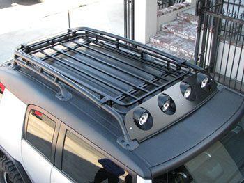 pin fj cruiser roof rack wind deflector