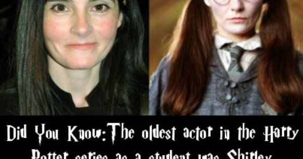 Harry Potter Facts Love Shirley Henderson Always Recognize That Voice Potter Facts Harry Potter Facts Harry Potter Universal
