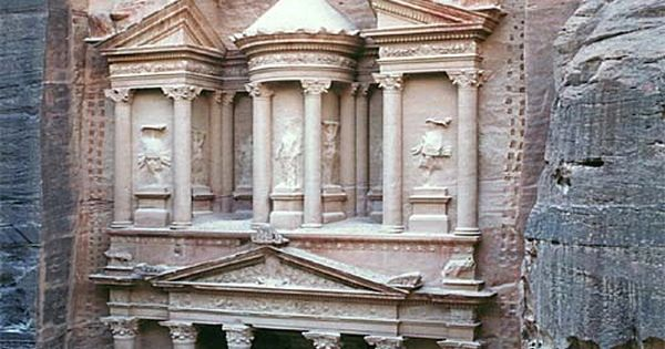 One of the seven wonders of the world - Petra, Jordan -