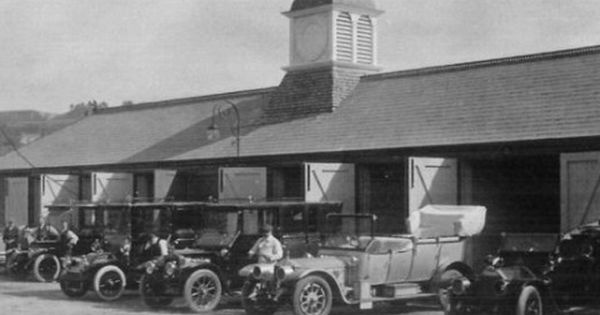 Residents Cars Being Parked At The Garages At The Hythe Imperial Hotel Hythe Kent Imperial Hotel Hotel County House