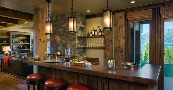 Rec Room Bar CO Home Pinterest Rooms And Woven Blinds