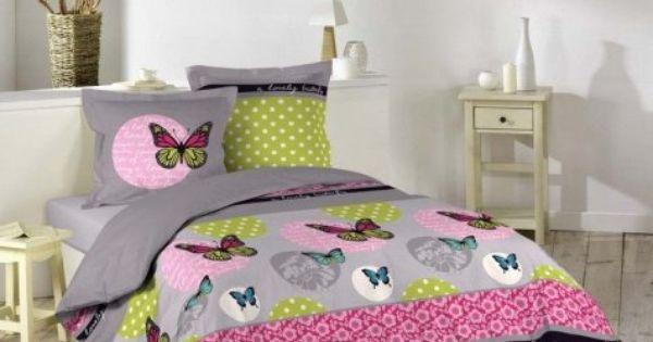 Parure Butterfly Parures Housses De Couette Superbe Parure Pour Une Chambre