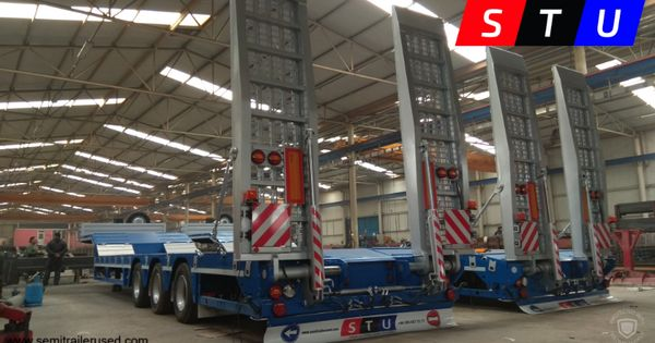 3 Axle Lowbeds Lowboy Stu Trailer Stu Is Supplier Of Used Lowbed Semi Trailers Which Has 2 3 4 5 6 7 8 A
