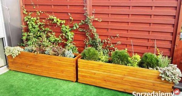 Drewniane Donice Ogrodowe Pod Wymiar Sprzedam Plants Outdoor Structures Garden