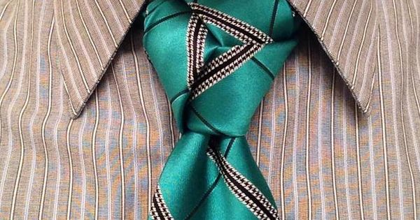 Amazing trinity knot submission from Nathan Adams for the AGREEorDIE necktie giveaway.