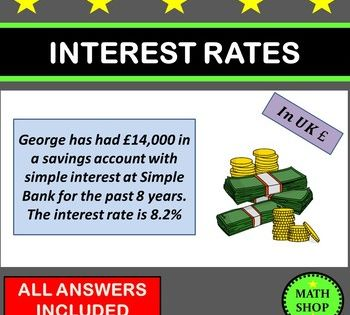 Simple And Compound Interest Word Problems Simple Interest This Or That Questions