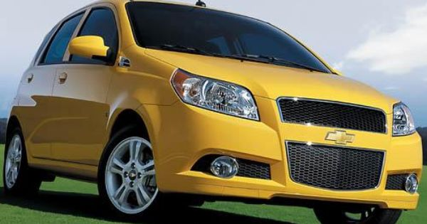 Chevy Aveo Comes Up Short When Compared With Others Chevrolet