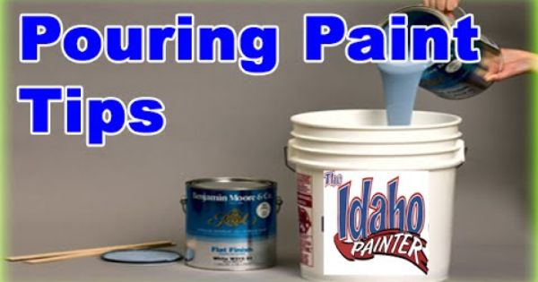 Pouring Paint Out Of A 5 Gallon Bucket No Mess Tip Paint Buckets 5 Gallon Buckets 5 Gallon Paint Bucket