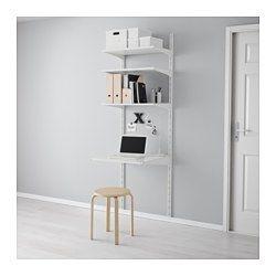Algot Wall Upright Shelves White 26x24x77 1 2 Ikea Algot