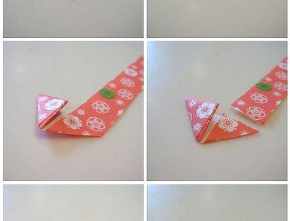 Puffed Paper Heart Origami