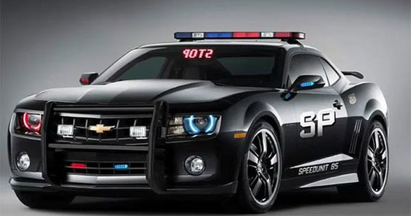 This 2012 Chevrolet Camaro Cop Car Is Awesome Looking Watch Out