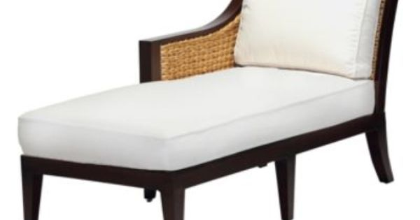 Aqua right facing chaise lounge with cushion furniture for Aqua chaise lounge