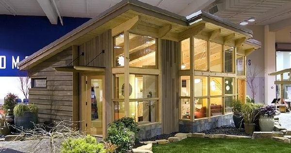 Fabcab Seattle Home Show Front Tiny Houses Thanks