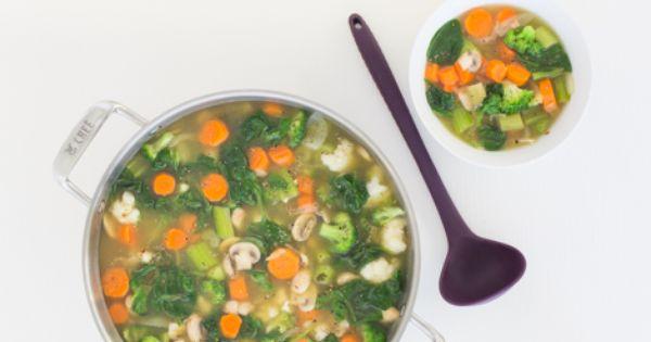 Detox Soup | Recipe | Green teas, Detox and Healthy