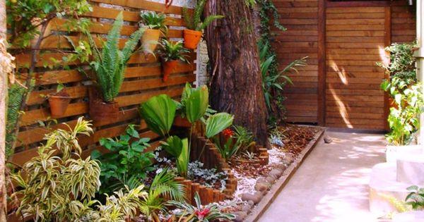Paisagismo lateral parques y jardines pinterest - Jardines zen miniatura ...
