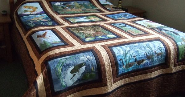 Wildlife Quilt Patterns Wildlife Quilt Diy Projects To
