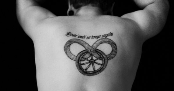 Wheel of time tattoo i would never do it but that is for Wheel of time tattoos