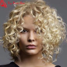 Image Result For Short Curly Hair Wigs For White Women