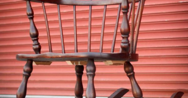 Low Back Windsor Rocking Chair  Colonial interiors  Pinterest  Low ...