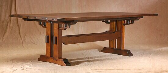 Westmoreland Dining Table Wooden Dining Room Table Craftsman