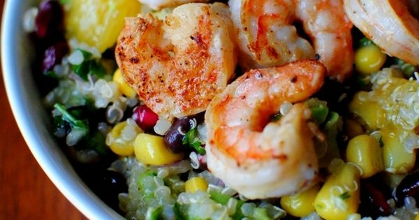 Food: Seven Great Dinner Recipes Super Food Salad with Lemon Vinaigrette by