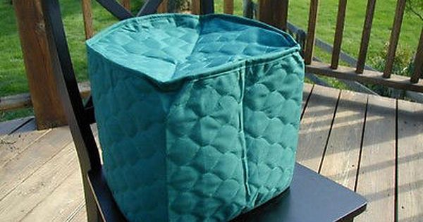 Hunter Green Appliance Cover 6 Qt Round Crockpot Solid Mixer And Quilted Fabric Green Appliances Appliance Covers Hunter Green