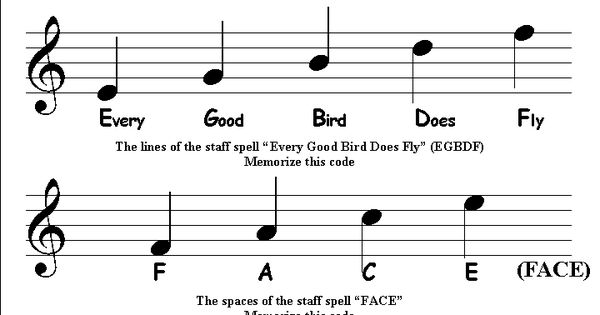music note chart | ... Chords ... Keyboard Scales ... Note Reading ...