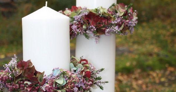 Déco d'automne romantique avec la bruyère Erica  Deco and ...