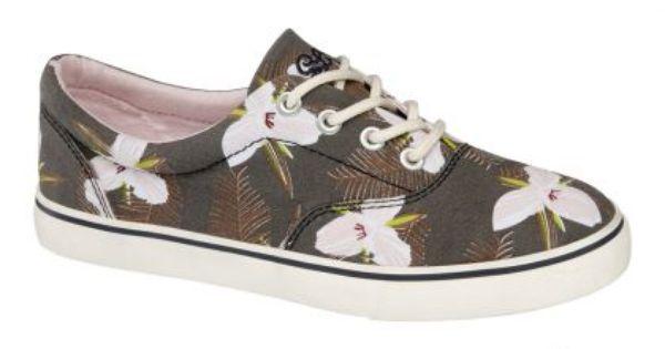 Brazowe Tenisowki Z Hawajskim Motywem Deichmann Spring Shoes Shoes Spring Summer Fashion Shoes