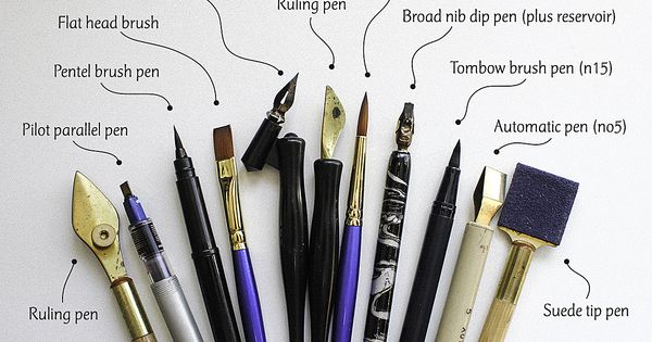 "Moana Lua wrote: ""I often get asked what pens I use for"
