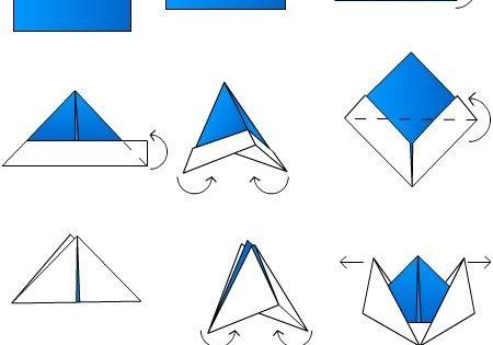 diy bateau origami origami pinterest origami bateaux et bateau en origami. Black Bedroom Furniture Sets. Home Design Ideas
