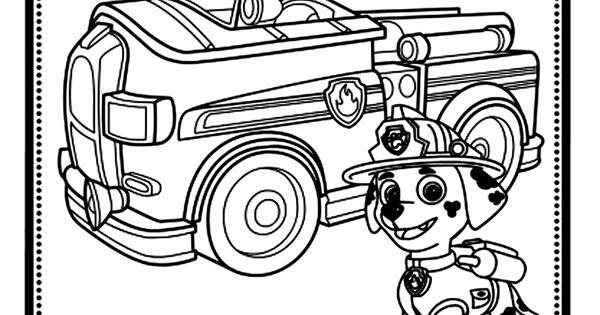 Pour Imprimer Ce Coloriage Gratuit «coloriage-pat-patrouille-marshall-camion», Cliquez Sur L