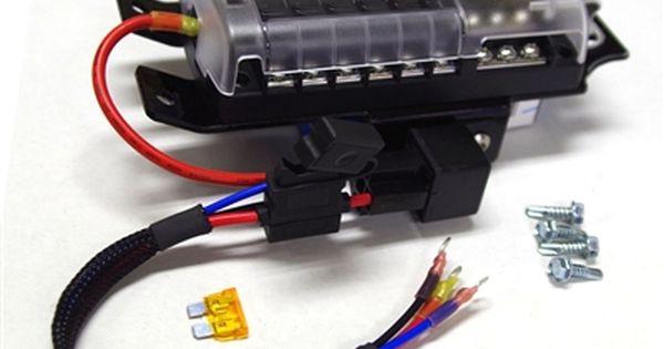 Under Hood Accessory Fuse Block Rzr Accessories Rzr Car Audio Installation