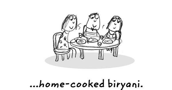 Happiness Is Home-cooked Biryani