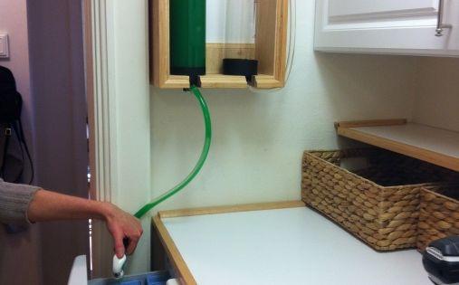 Custom Laundry Detergent Dispenser For Front Loading