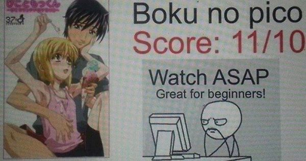 Boku no pico clannad and will have to on pinterest