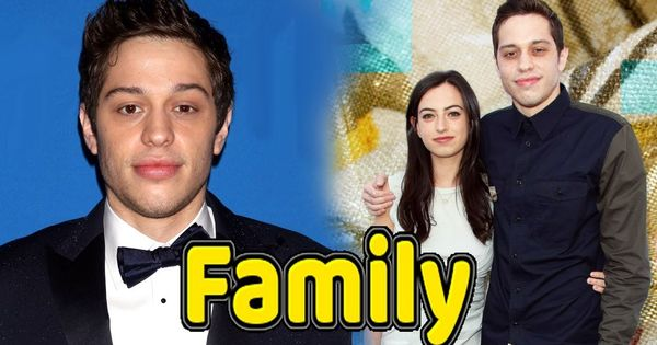 Pete Davidson Family Photos With Father Mother And Grilfriend Cazzie Dav Hollywood Celebrities Bollywood Celebrities Actors Actresses
