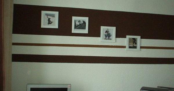 Wandgestaltung In Streifen: Wände Im Streifenkleid | Gestreifte Wände,  Streifenkleid Und Solebich