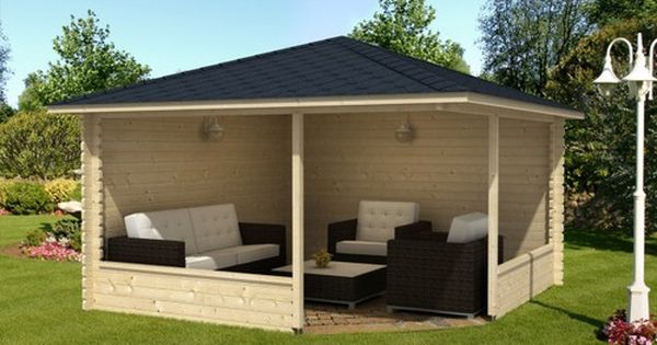 5 eck gartenlaube maik 40 gartenpavillon pinterest garten pergolas and yard crashers. Black Bedroom Furniture Sets. Home Design Ideas