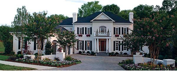 Traditional Style House Plan 85631 With 5 Bed 6 Bath 3 Car