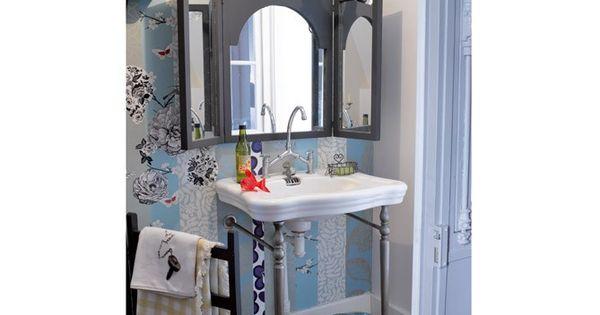 Coller miroir sur papier peint coller miroir papier for Miroir a coller sur armoire