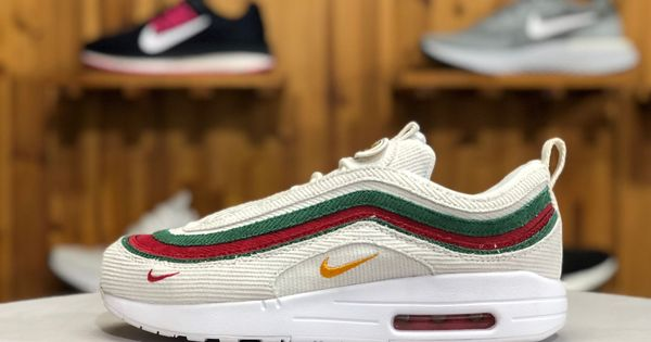 Cheap Nike Air Max 197 VF SW White Red Green For Sale