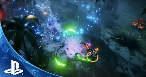Abduct Four Pals For Couch Co Op In Ps4 S Alienation Alien