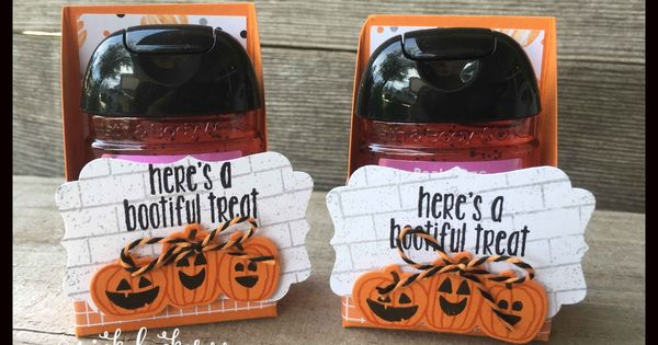 I Always Make Some Cute Halloween Hand Sanitizers For My Fall
