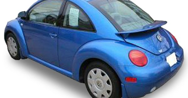 1999 2011 Volkswagen Beetle Spoilers Elite Spoilers Abs83a Ld5q Vw Beetle Accessories Volkswagen Beetle Vw Beetles