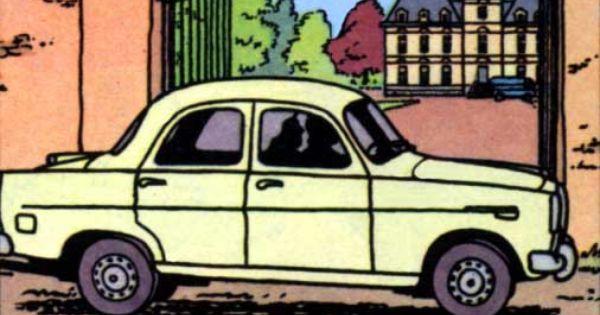 Las Joyas De La Castafiore Alfa Romeo Giulietta 1958 Tintin Alfa Romeo Giulietta Alfa Romeo